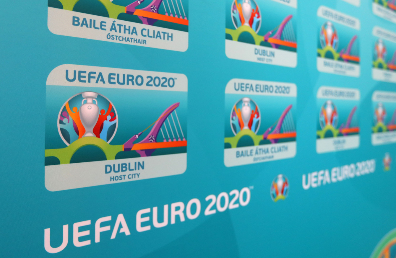The 12 selected cities of Euro 2020